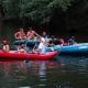 Lotři Hronov pomáhali hendikepovaným sjet si jejich první řeku 04