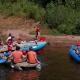 Lotři Hronov pomáhali hendikepovaným sjet si jejich první řeku 06
