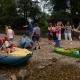 Lotři Hronov pomáhali hendikepovaným sjet si jejich první řeku 11