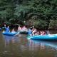 Lotři Hronov pomáhali hendikepovaným sjet si jejich první řeku 16