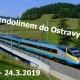Pendolinem do Ostravy!