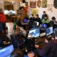 LAN párty se stalo místem setkání několika generací Lotrů