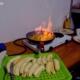 Bowlling a banány